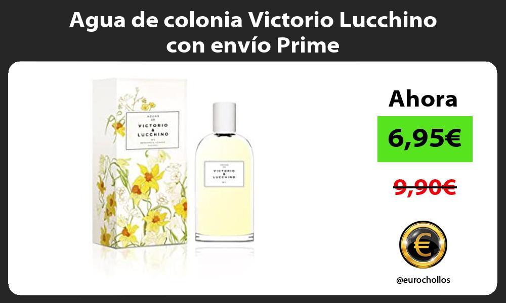 Agua de colonia Victorio Lucchino con envío Prime