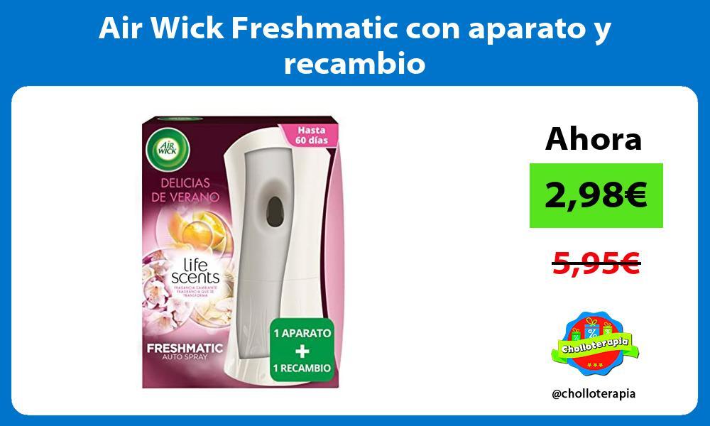 Air Wick Freshmatic con aparato y recambio