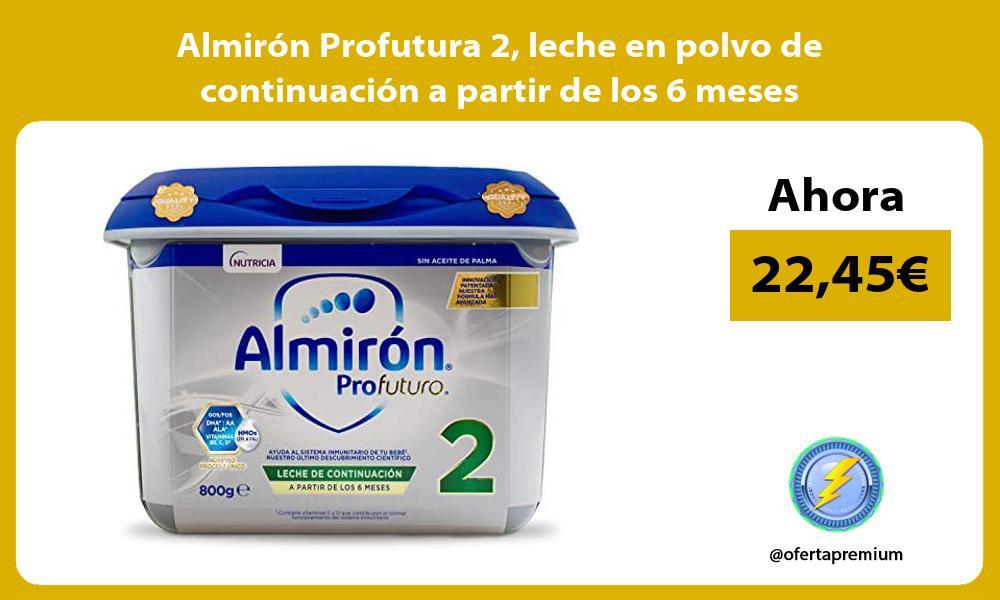 Almirón Profutura 2 leche en polvo de continuación a partir de los 6 meses