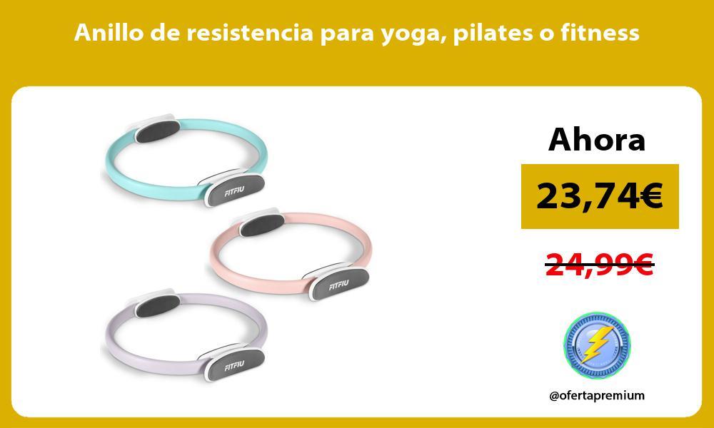 Anillo de resistencia para yoga pilates o fitness