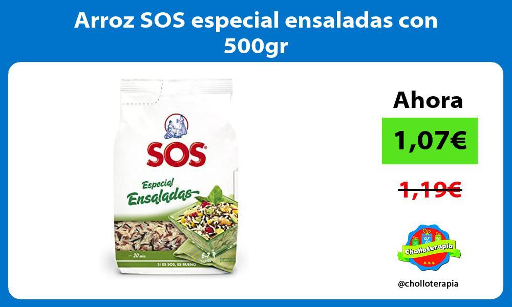 Arroz SOS especial ensaladas con 500gr