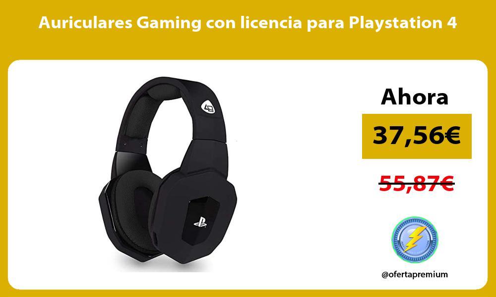 Auriculares Gaming con licencia para Playstation 4