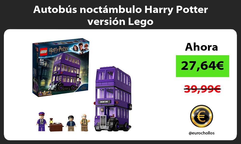 Autobús noctámbulo Harry Potter versión Lego