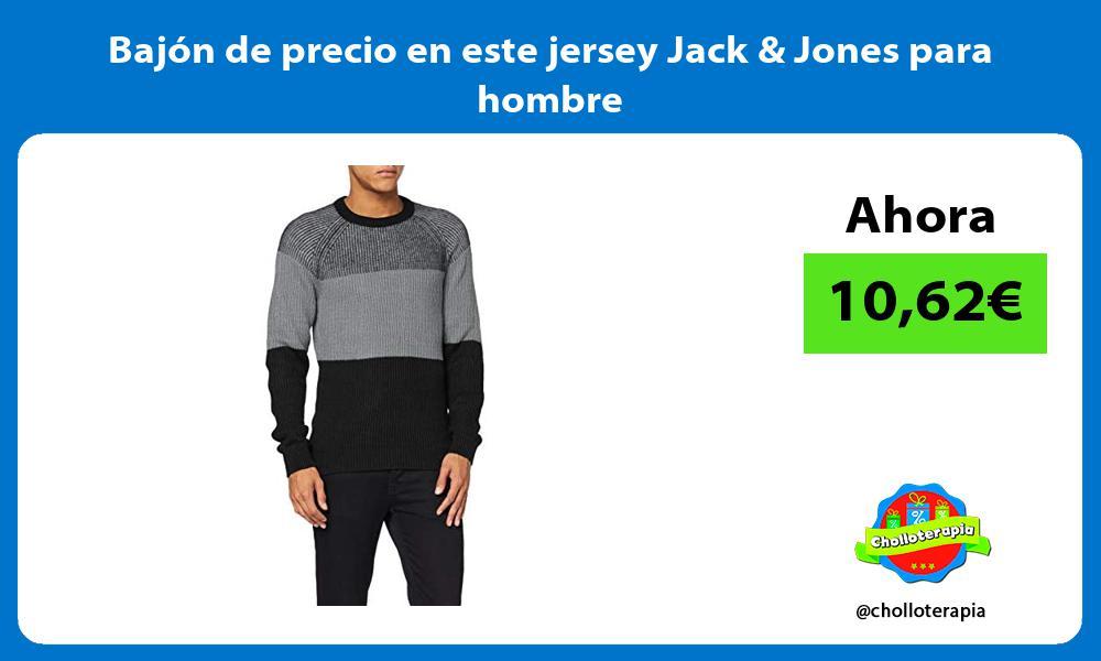 Bajón de precio en este jersey Jack Jones para hombre