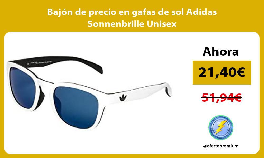 Bajón de precio en gafas de sol Adidas Sonnenbrille Unisex