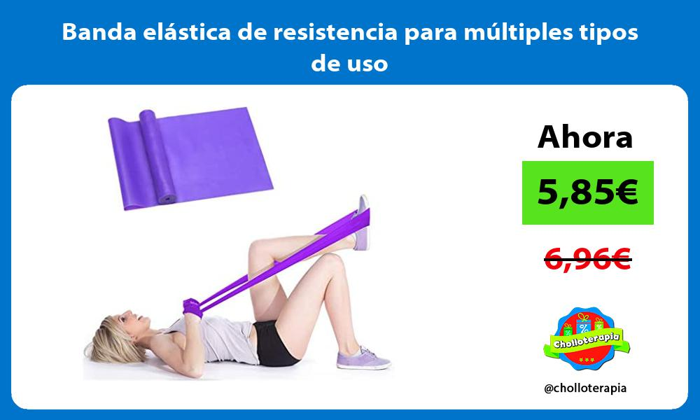 Banda elástica de resistencia para múltiples tipos de uso