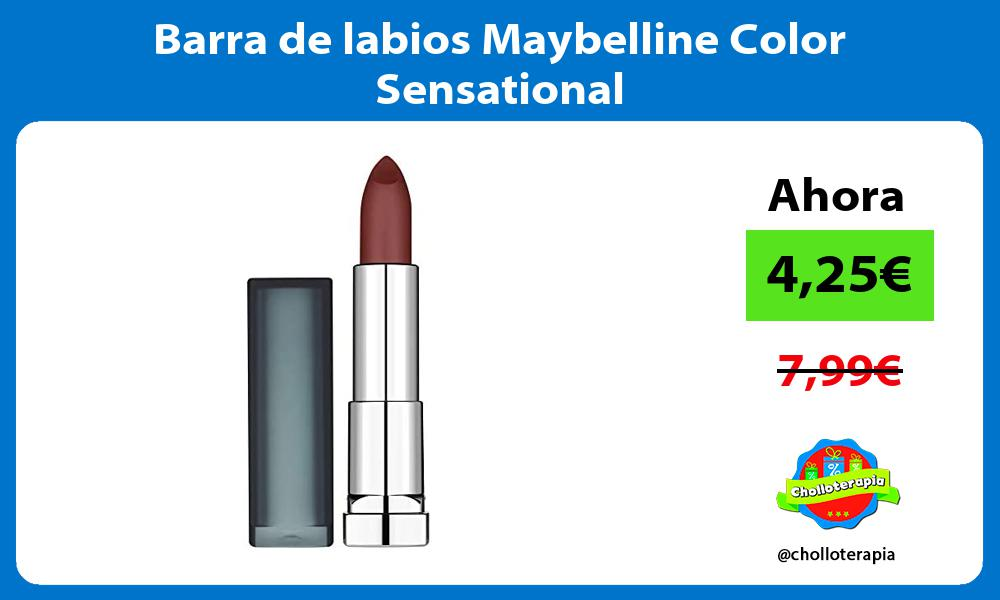 Barra de labios Maybelline Color Sensational