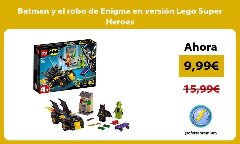 Batman y el robo de Enigma en versión Lego Super Heroes