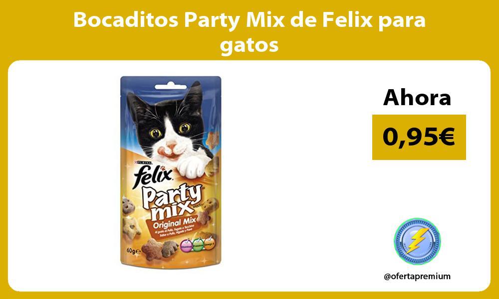 Bocaditos Party Mix de Felix para gatos