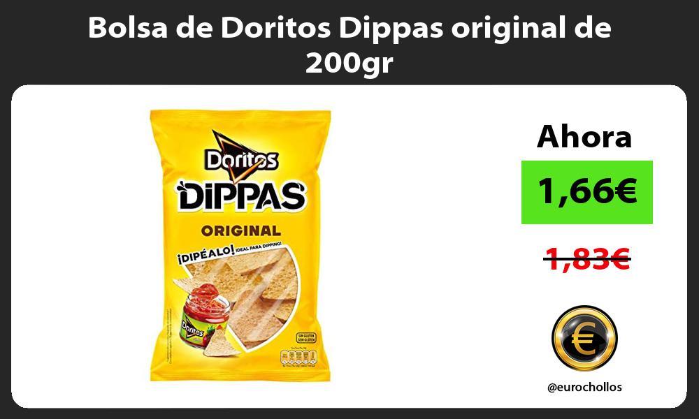Bolsa de Doritos Dippas original de 200gr