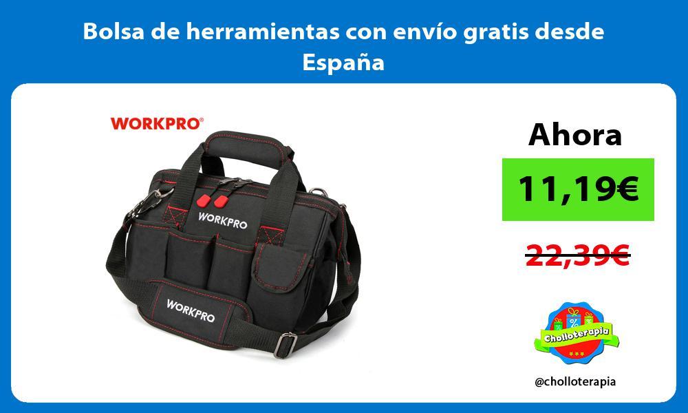 Bolsa de herramientas con envío gratis desde España
