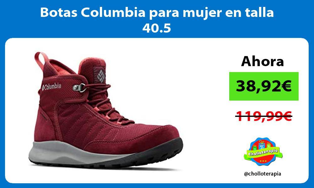 Botas Columbia para mujer en talla 40 5