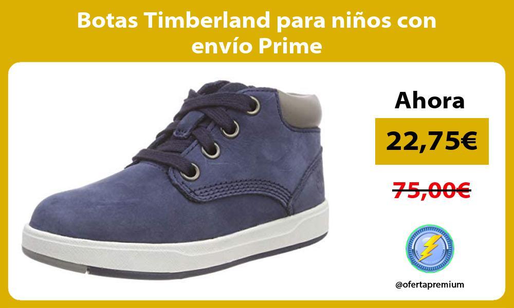 Botas Timberland para niños con envío Prime