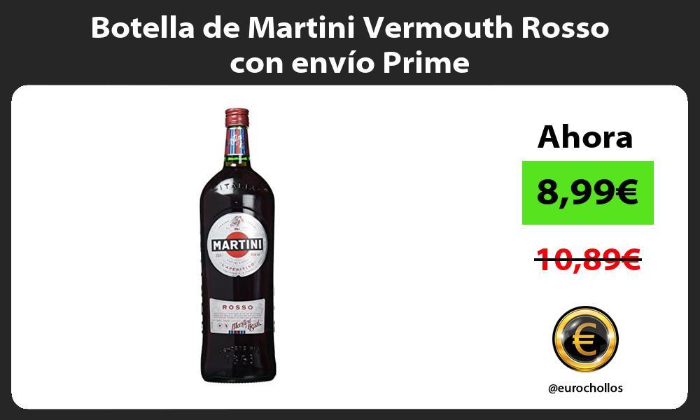 Botella de Martini Vermouth Rosso con envío Prime