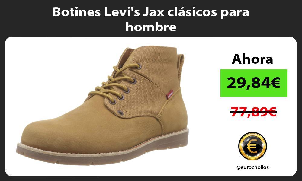 Botines Levis Jax clásicos para hombre