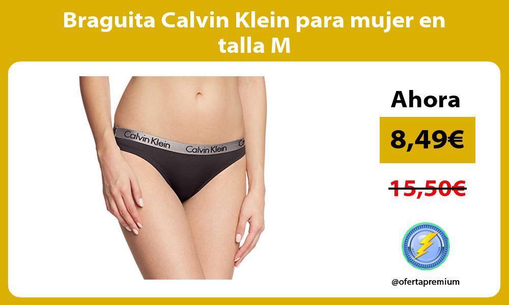 Braguita Calvin Klein para mujer en talla M