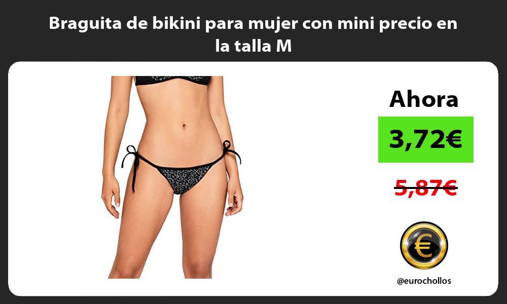 Braguita de bikini para mujer con mini precio en la talla M