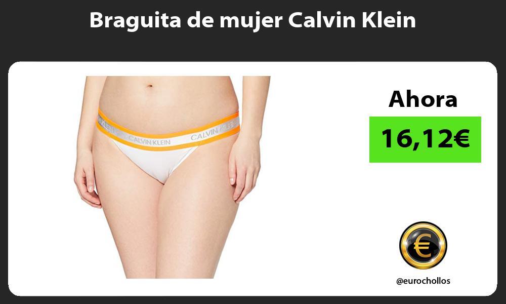 Braguita de mujer Calvin Klein