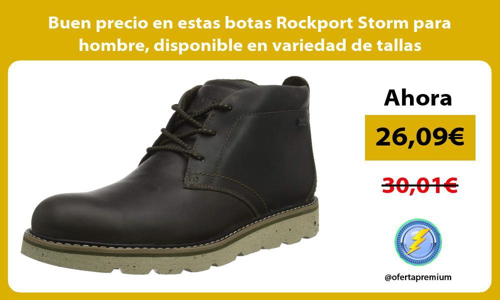 Buen precio en estas botas Rockport Storm para hombre disponible en variedad de tallas