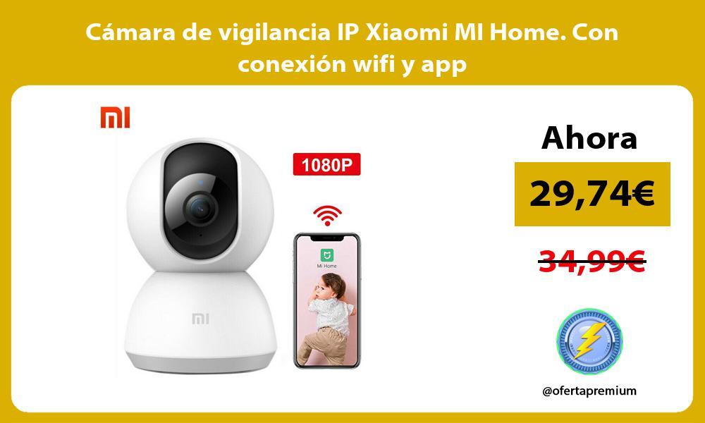 Cámara de vigilancia IP Xiaomi MI Home Con conexión wifi y app