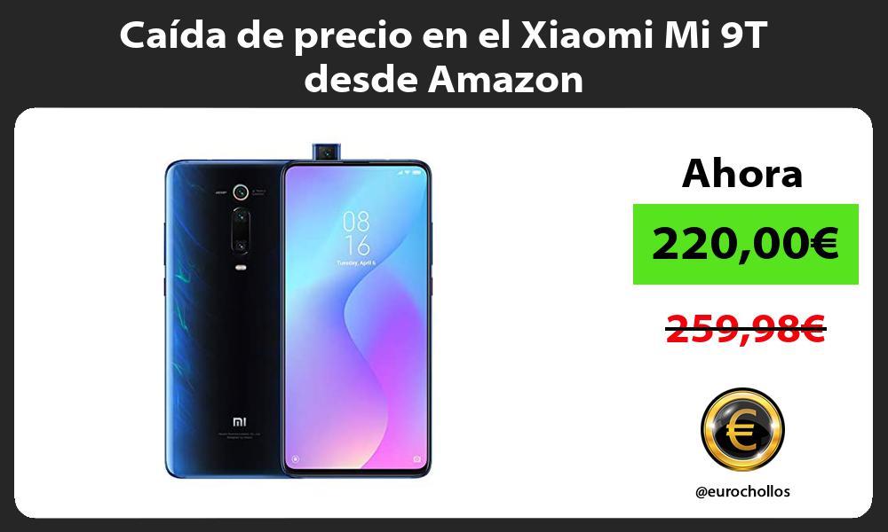 Caída de precio en el Xiaomi Mi 9T desde Amazon