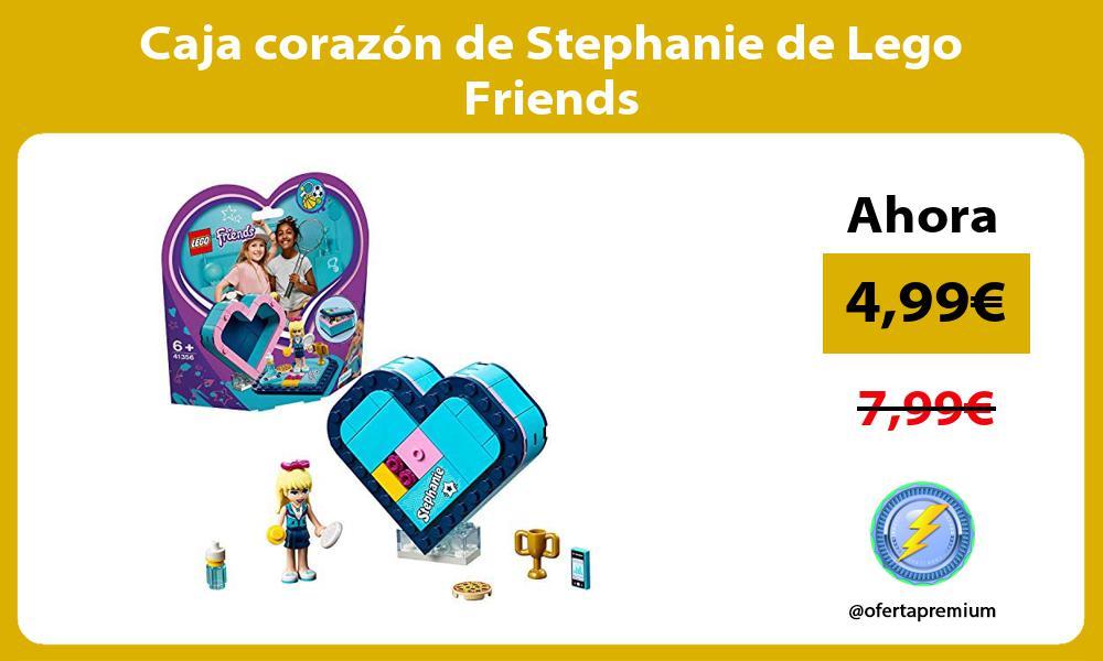 Caja corazón de Stephanie de Lego Friends