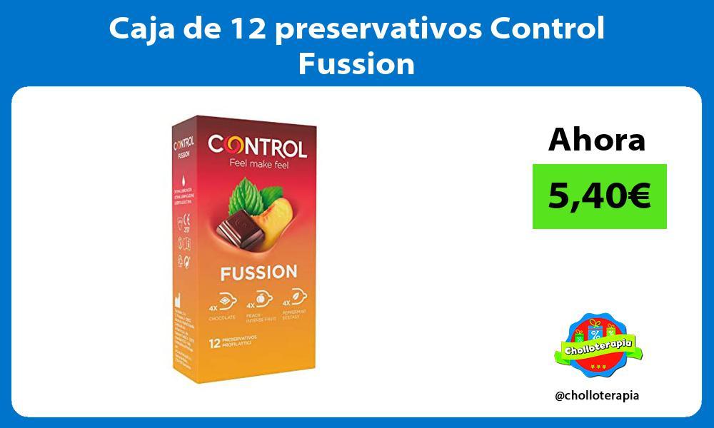 Caja de 12 preservativos Control Fussion