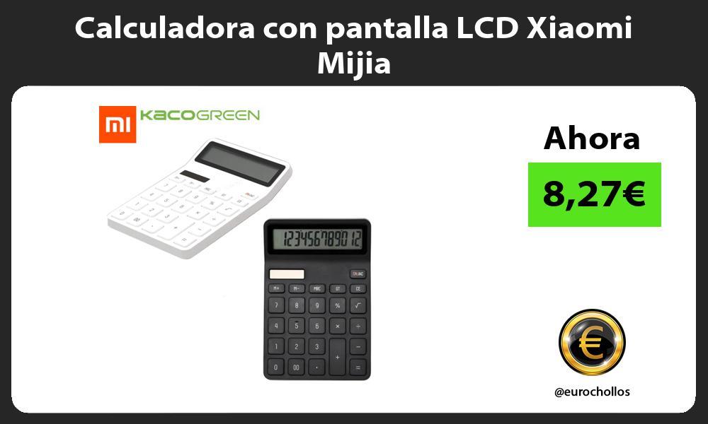 Calculadora con pantalla LCD Xiaomi Mijia