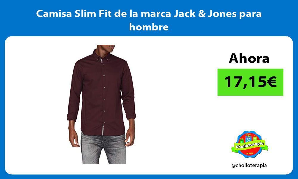 Camisa Slim Fit de la marca Jack Jones para hombre