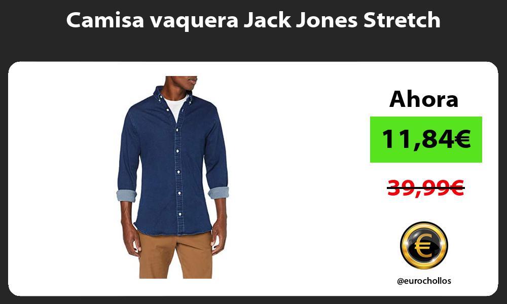 Camisa vaquera Jack Jones Stretch
