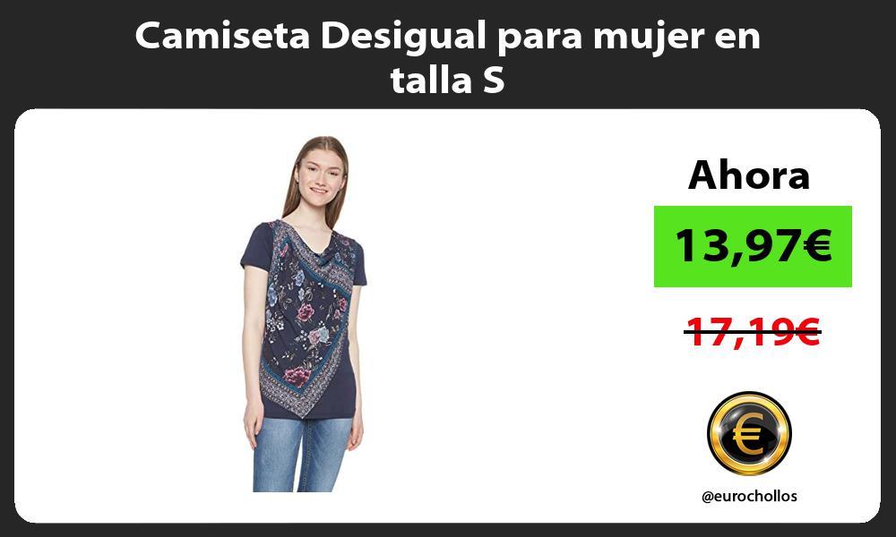 Camiseta Desigual para mujer en talla S