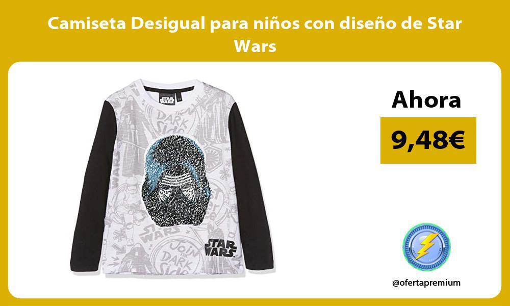 Camiseta Desigual para niños con diseño de Star Wars