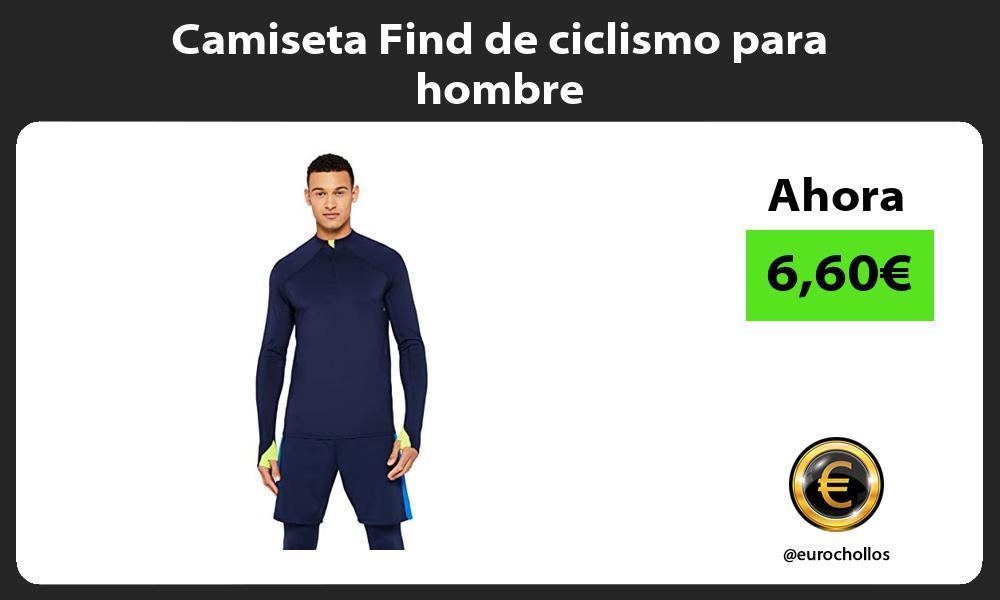 Camiseta Find de ciclismo para hombre