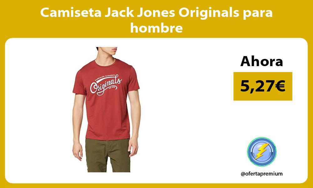 Camiseta Jack Jones Originals para hombre