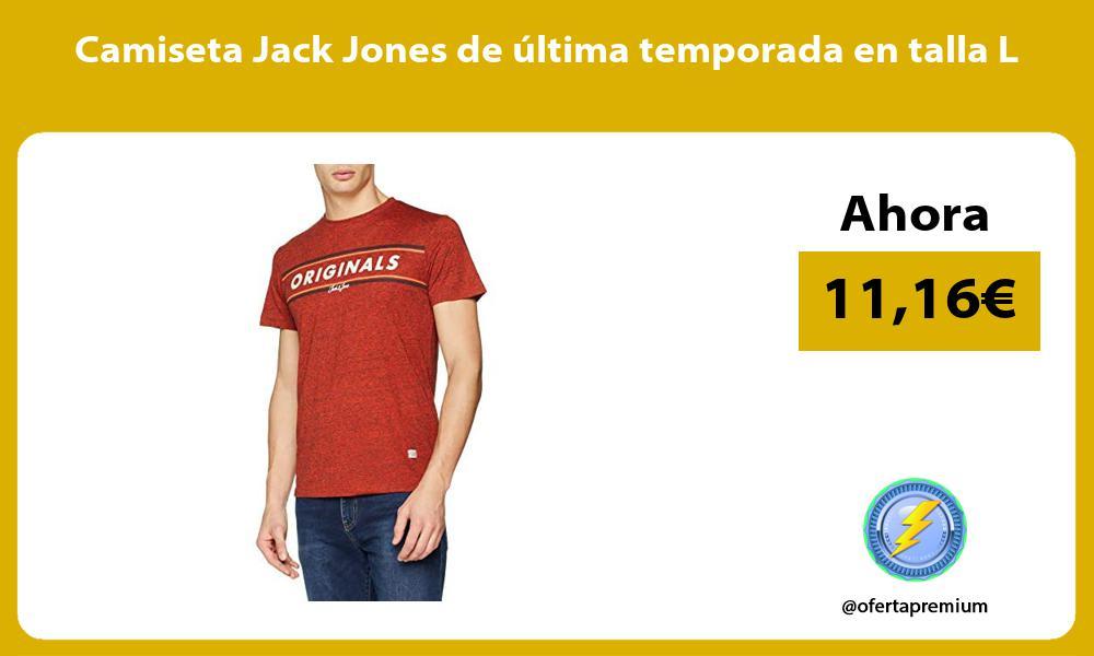 Camiseta Jack Jones de última temporada en talla L