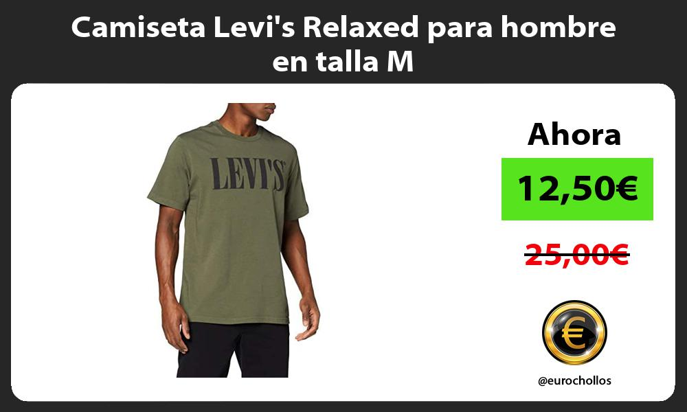 Camiseta Levis Relaxed para hombre en talla M