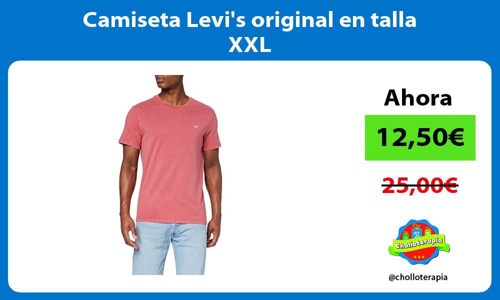 Camiseta Levis original en talla XXL