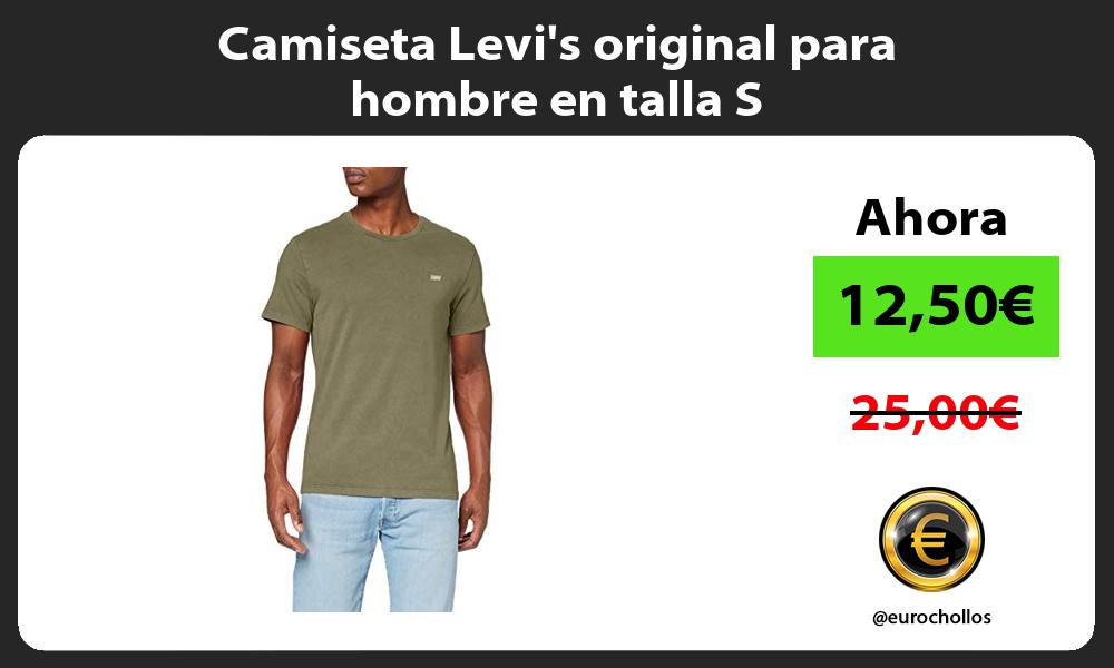 Camiseta Levis original para hombre en talla S