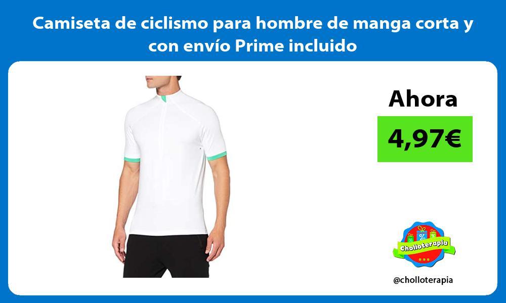 Camiseta de ciclismo para hombre de manga corta y con envío Prime incluido
