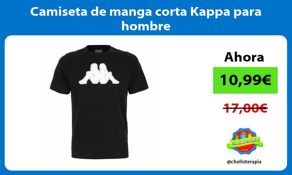 Camiseta de manga corta Kappa para hombre