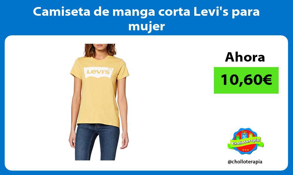 Camiseta de manga corta Levis para mujer