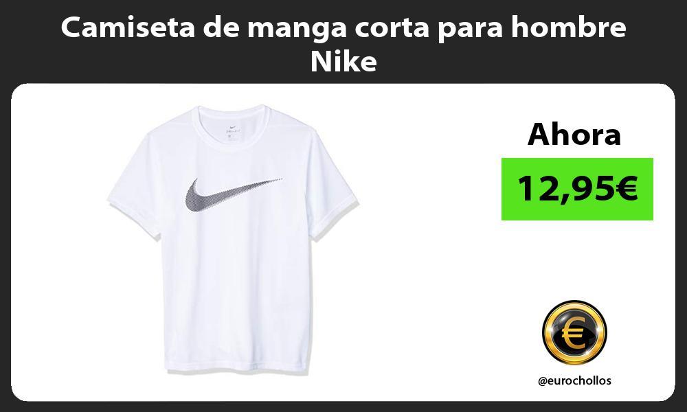 Camiseta de manga corta para hombre Nike