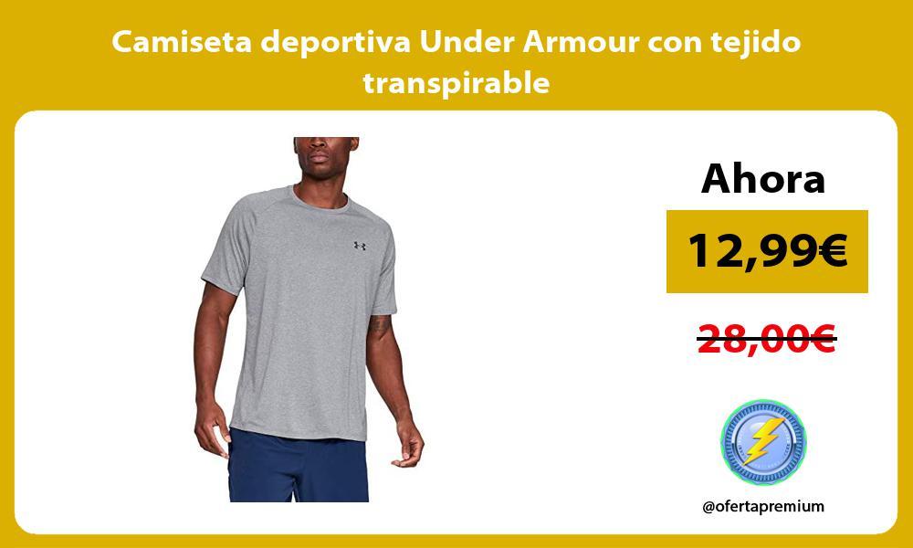 Camiseta deportiva Under Armour con tejido transpirable