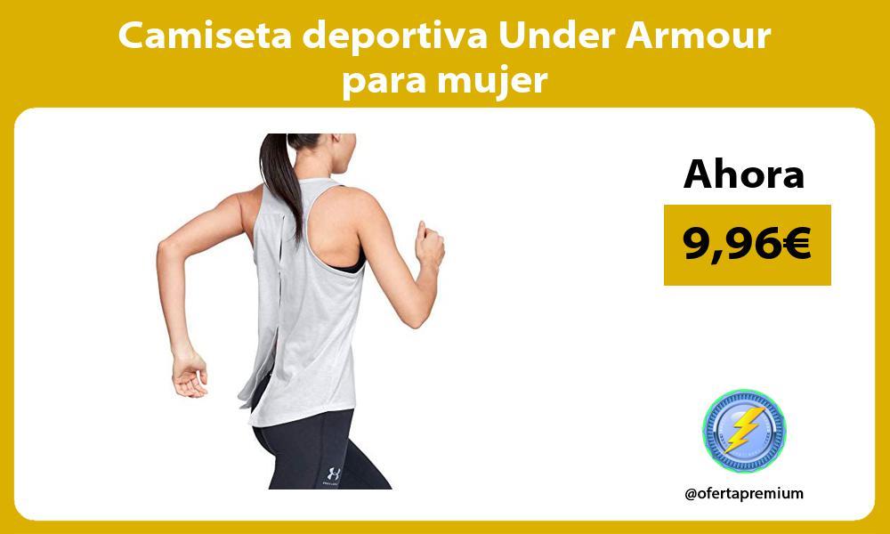 Camiseta deportiva Under Armour para mujer