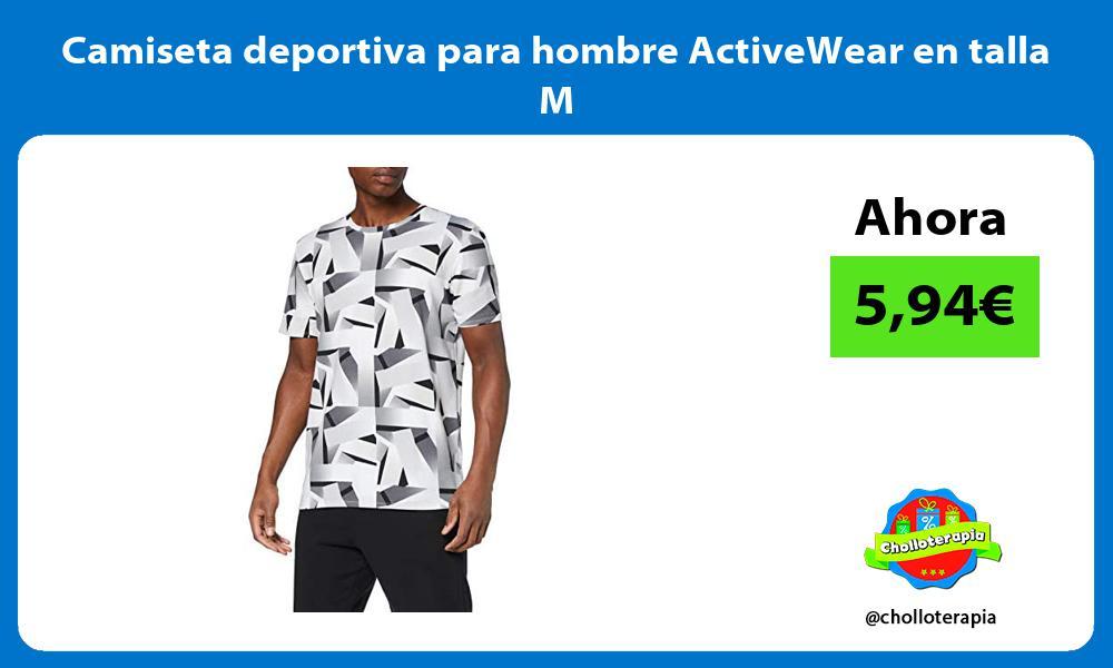 Camiseta deportiva para hombre ActiveWear en talla M
