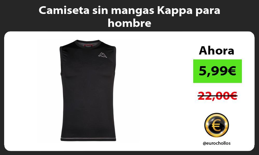 Camiseta sin mangas Kappa para hombre