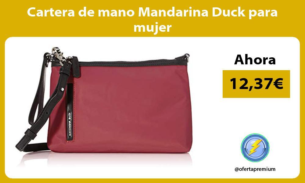 Cartera de mano Mandarina Duck para mujer