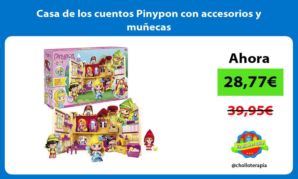 Casa de los cuentos Pinypon con accesorios y muñecas