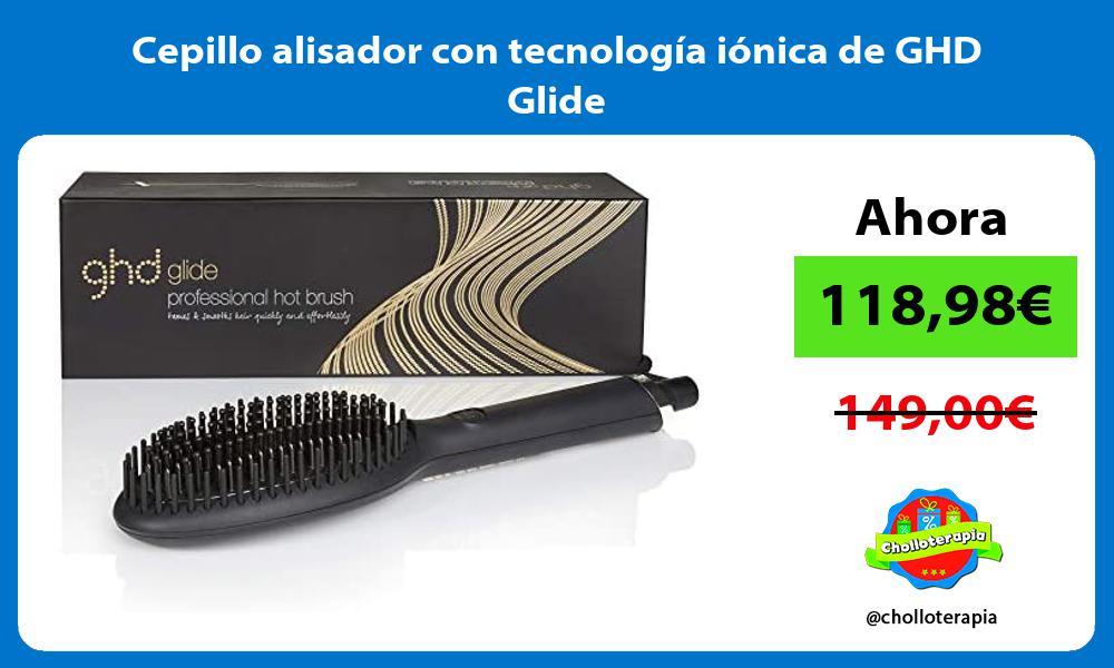 Cepillo alisador con tecnología iónica de GHD Glide