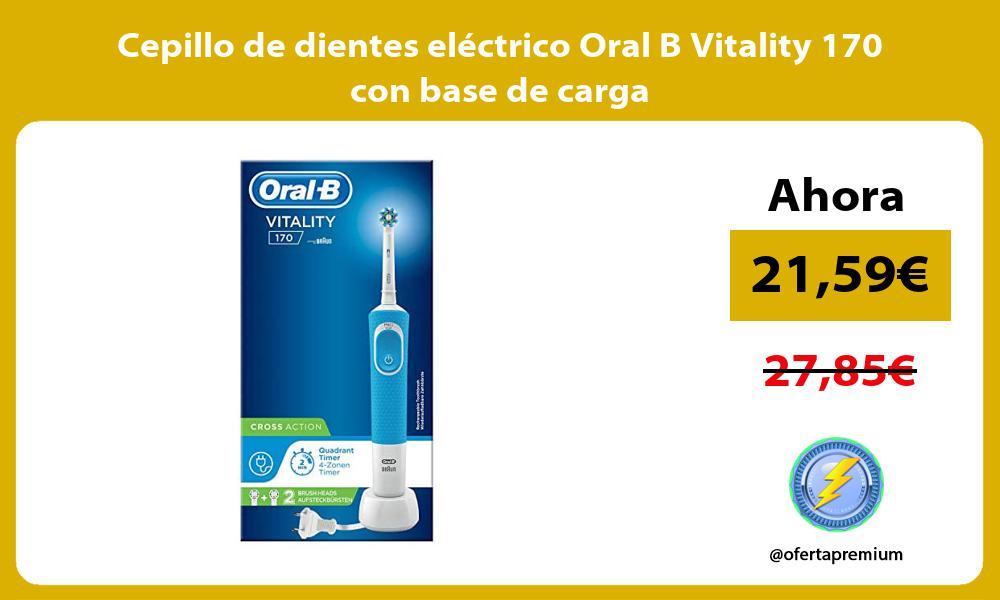Cepillo de dientes eléctrico Oral B Vitality 170 con base de carga